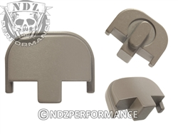 NDZ Gun Kote FDE Rear Plate for Smith & Wesson SD9 SD40