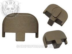 NDZ Personalized Smith & Wesson SD9 SD40 HC FDE Rear Plate