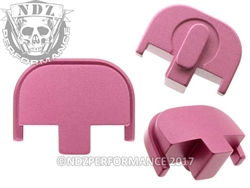 NDZ Pink Rear Plate for Smith & Wesson SD9 SD40 (*LZ)