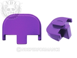 NDZ Purple Rear Plate for Smith & Wesson SD9 SD40 (*LZ)