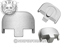 NDZ Silver Rear Plate for Smith & Wesson SD9 SD40 (*LZ)