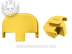 NDZ Gold Rear Plate for Smith & Wesson SD9 SD40 (*LZ)
