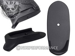 NDZ Black Magazine Plate Finger Extension Long for Smith & Wesson Shield 9MM .40 (*LZ)