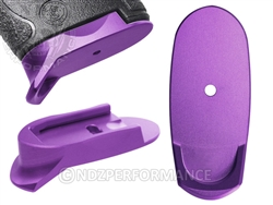 NDZ Purple Magazine Plate Finger Extension Long for Smith & Wesson Shield 9MM .40 (*LZ)