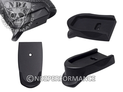 NDZ Black Magazine Plate Finger Extension for Smith & Wesson Shield 9MM .40 (*LZ)