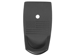 NDZ S&W Shield Finger Ext US Flag Black