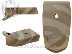 NDZ Cerakote Pattern 1 Magazine Plate Finger Extension for Smith & Wesson Shield 9MM .40