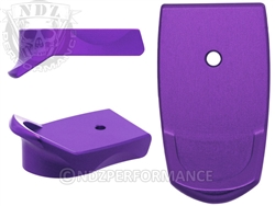 NDZ Purple Magazine Plate Finger Extension for Smith & Wesson Shield 9MM .40 (*LZ)