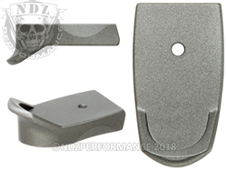 Tungsten Magazine Base Plate Finger Extension - 9MM | NDZ Performance