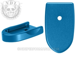 NDZ Mag Plate SW Shield 9MM .40 Blue