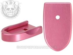 NDZ Mag Plate SW Shield 9MM .40 Pink