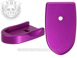 NDZ Mag Plate SW Shield 9MM .40 Purple