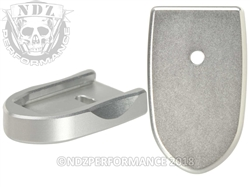 NDZ Mag Plate SW Shield 9MM .40 Silver