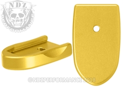 NDZ Mag Plate SW Shield 9MM .40 Gold