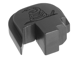 NDZ S&W Shield Finger Ext Snake Black