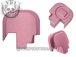 NDZ Pink Rear Plate for Smith & Wesson Shield 9MM .40 (*LZ)