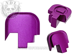 NDZ Purple Rear Plate for Smith & Wesson Shield 9MM .40 (*LZ)