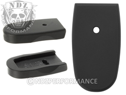 NDZ Black Magazine Plate for Smith & Wesson Shield .45 (*LZ)