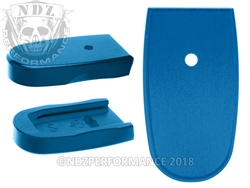 NDZ Blue Magazine Plate for Smith & Wesson Shield .45 (*LZ)