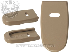 NDZ FDE Magazine Plate for Smith & Wesson Shield .45