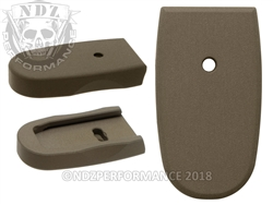 NDZ HC FDE Magazine Plate for Smith & Wesson Shield .45 (*LZ)