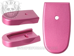 NDZ Pink Magazine Plate for Smith & Wesson Shield .45 (*LZ)