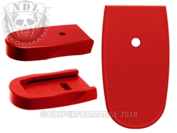 NDZ Red Magazine Plate for Smith & Wesson Shield .45 (*LZ)
