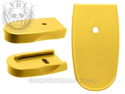 NDZ Gold Magazine Plate for Smith & Wesson Shield .45 (*LZ)