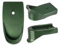 NDZ Green Magazine Plate Finger Extension Textured for Smith & Wesson Shield .45 (*LZ)