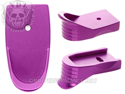 Purple Shield Magazine Base Plate Finger Extension - .45 Cal | NDZ Performance