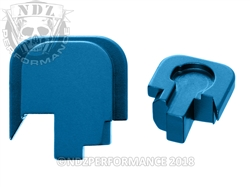 Smith & Wesson Shield Blue Slide Cover Plate - 45 | NDZ Performance