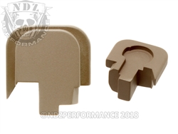 Smith & Wesson Shield FDE Slide Cover Plate - 45 | NDZ Performance