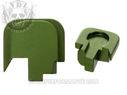 Smith & Wesson Shield Green Slide Cover Plate - 45 | NDZ Performance
