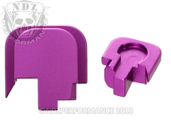 Smith & Wesson Shield Purple Slide Cover Plate - 45 | NDZ Performance