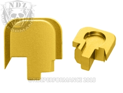 Smith & Wesson Shield Gold Slide Cover Plate - 45 | NDZ Performance
