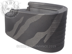 M&P Shield Mag Ext Black Tungsten Tiger Stripe