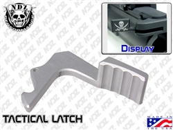 NDZ Silver Charging Handle Tactical Latch for Smith & Wesson M&P 15/22 (*LZ)