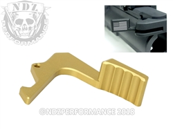 NDZ Performance S&W M&P 15-22 Gold Charging Handle Latch