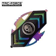 Tac-Force Tactical Fidget Spinner Rainbow