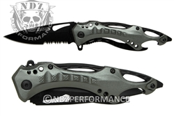 "Tac-Force 3.25"" Spring Assisted Folding Pocket Knife TF705GY"