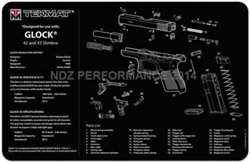 TekMAT Gun Cleaning and Maintenance Mat for Glock 42 43