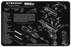 TekMAT Gun Cleaning and Maintenance Mat for Ruger LCP