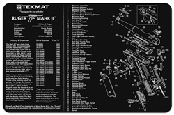 Tekmat For Ruger Mark Ii | Gun Cleaning And Maintenance Supplies