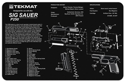 Tekmat For Sig Sauer P250 | Gun Cleaning And Maintenance Supplies