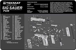 TekMAT Gun Cleaning and Maintenance Mat Sig Sauer P229