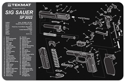 Tekmat For Sig Sauer Sp2022 | Gun Cleaning And Maintenance Supplies