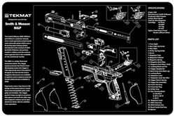 TekMAT Gun Cleaning and Maintenance Mat for Smith & Wesson M&P