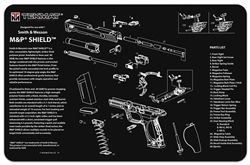 TekMAT Gun Cleaning and Maintenance Mat for Smith & Wesson M&P Shield