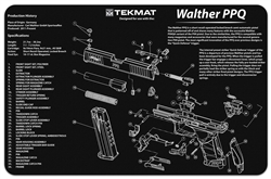 Tekmat For Walther Ppq | Gun Cleaning And Maintenance Supplies