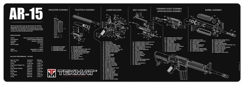 TekMAT Gun Cleaning and Maintenance Mat for AR-15